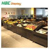 Doppelter mit Seiten versehener Obst- und Gemüseacrylsauerausstellungsstand