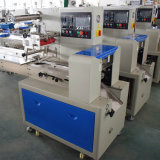 Fabricante China flujo multifunción maquinaria de embalaje de pan de panadería automático