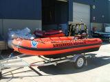 Aqualand 17feet aufblasbares Rettungs-Bewegungsboot/Militärgummiboot (AQL-530)