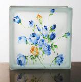 O melhor preço Jinghua 190x190x80mm tijolo/bloco de vidro artístico