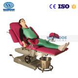 equipo de múltiples funciones del hospital a-C102D1 plegable la silla obstétrica de la examinación del Gynecology de la base