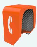 VoIP 전화 두건, 반대로 파괴자 두건, 청각적인 전화 두건 비바람에 견디는 두건