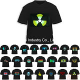 LED EL Advertisement T Shirts