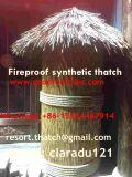 Thatch artificiale del Thatch sintetico della palma per il ricorso 5 della glassa della barra di Tiki della capanna di Tiki