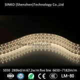Bianco freddo luminoso eccellente dell'indicatore luminoso di striscia di SMD 5050 LED