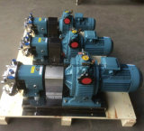 Pompe rotative del lobo dell'acciaio inossidabile Ss304 Ss316L con l'isolamento del rivestimento usato per cioccolato
