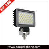Super brillante de 3,5 pulgadas cuadradas de 6 W LED luces de trabajo de camiones offroad