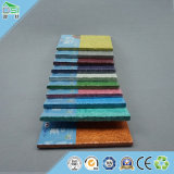 Clip de las ventas al por mayor en el panel de pared de los techos de las lanas de madera
