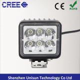 """Impermeabilizzare 3 """" l'indicatore luminoso astuto del lavoro di formato LED di 12V 18W"""