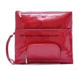 여자의 가짜 에나멜 가죽 PU 아름다움 편평한 지갑