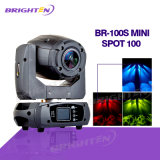 Mini LED 100W Moving Head Stage Spot Lights para festa