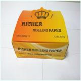 印刷を用いる大きいシートで煙ることのための風味を付けられたロール用紙