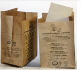 Los desechos de jardín ecológica y de la hoja de bolsa, bolsa de papel de basura, patio de la bolsa de residuos