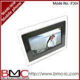 "Digital Photo Frame 7"" ЖК-MP3 128 МБ"