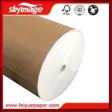 Imprimante à jet d'encre de Mme Lario avec le papier de sublimation de roulis enorme du poids léger 66GSM