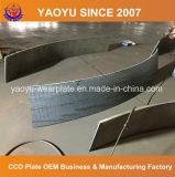 Stahlplatte beschichtet mit Chrom-Karbid