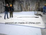 단 하나 가닥 지붕 시스템 1.2mm/1.5mm 섬유유리에 의하여 강화되는 PVC 방수 막