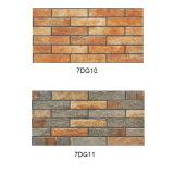 azulejos de piedra de cerámica de la pared de la mirada de la inyección de tinta 3D para la chimenea