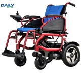 Кресло-коляска электричества легкой складчатости хозяйственная с подвесом Dp602