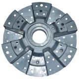 Pieza de aleación de aluminio circular