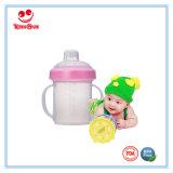 чашки младенца качества еды 200ml пластичные с ниппелью сока