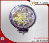 luz auto de la conducción de automóviles del redondo LED de 5inch 36W 1830lm, certificación del Ce IP68