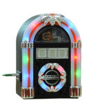 Pequena Londres Juke Box com USB MP3/Rádio (ATJ-801)