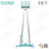 Doppelmast-Aluminiumluftarbeit-Plattform (maximale Höhe 12m)