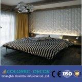 Hotel/Home/mobiliario decorativo de MDF de onda de panel de pared 3D