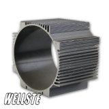 Perfil de alumínio da extrusão do dissipador de calor 6063 T5 de alumínio com tamanho feito sob encomenda