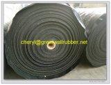 Résistance de haute usure mines et carrières en caoutchouc renforcé de fibre de feuille/rouleau de tapis