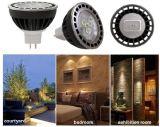 より少ない熱、エネルギー-セービング-はMR16 LEDの点ライトFCC証明した