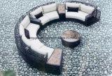 Rattan ao ar livre Garden Garden Sunrise Lounge Sofá (TG-021)