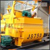 Js750 mélangeur de sable et ciment Prix de l'usine de traitement par lots