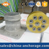 Клин Anchorage напряжения столба для стренги PC 12.7mm 15.2mm