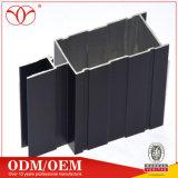 Perfil de extrusão de alumínio para portas e janelas com vidro temperado duplo sistema deslizante (A99)
