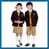 Изготовленный на заказ профессиональные формы средней школы продают оптом, главным образом школьные формы малышей, навальные школьные формы