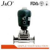 Nuevo estilo de la válvula de diafragma de saneamiento con accionador de plástico