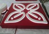Деловых обедов Stailess стали индикатор Краски акриловые площадь рекламы освещения в салоне