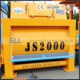 Preço do misturador da areia Js750 e de cimento para a planta de tratamento por lotes