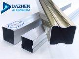 Perfil de aluminio de tubo de la serie 6000 Producto para puerta ventana protectora Anti-Thief