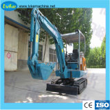 元の高品質の構築機械装置の小型坑夫のクローラー掘削機Hblk18