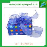 Confiseries au chocolat boîte cadeau de Noël de l'emballage du papier
