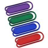 Clips de papel plásticos de gran tamaño de la calidad en colores clasificados