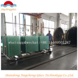China 3mm-19mm lisos/dobrou o vidro Tempered 6.38mm de /Toughened/Reflective/Lamianted