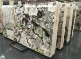 Домашняя оформление изумрудно зеленый мраморный Оникс мраморным каменной плиткой