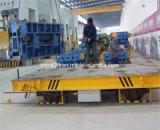 重い輸送車はIndstryの鋼鉄グループを再び巻くことで適用した