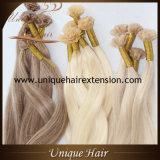 In het groot Europese Blonde V van de As Remy de Uitbreidingen van het Haar van de Fusie van het Uiteinde