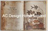 Arte di legno della parete di figura del libro dell'unità di elaborazione Leather/MDF di oceanografia