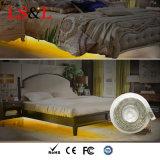 暖かい白LED人間センサーのベッドの適用範囲が広いストリップ夜ライト